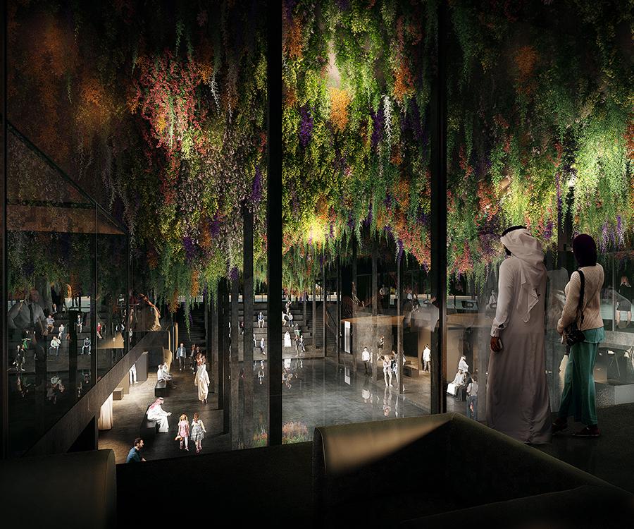 MARIN TROTTIN (PAVILLON EXPOSITION UNIVERSELLE, Dubaï)