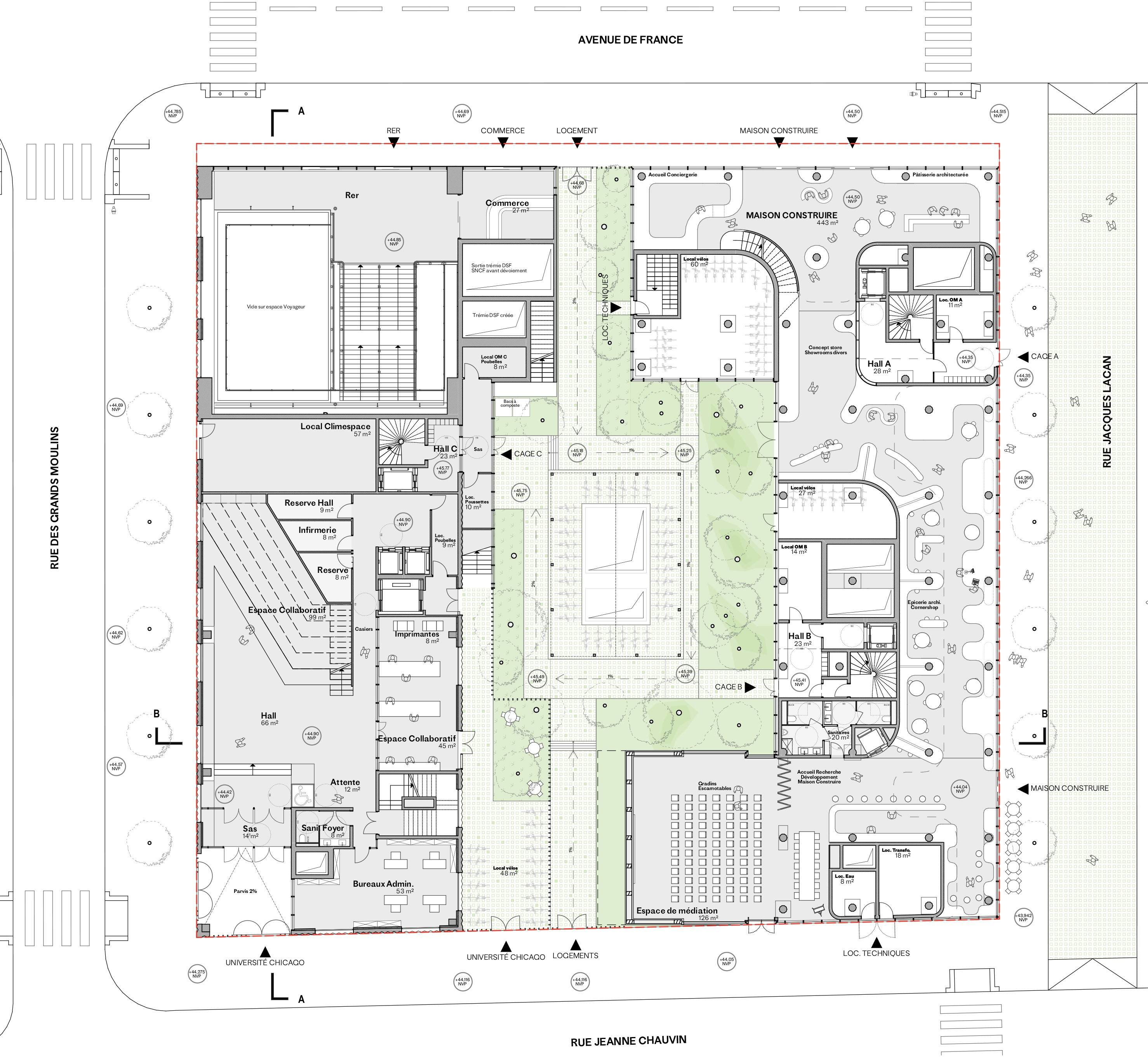 Marin + Trottin Architectes / Projet Maison/Construire