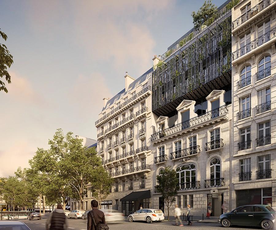 MARIN TROTTIN(AN HOTEL PARTICULIER, Paris)